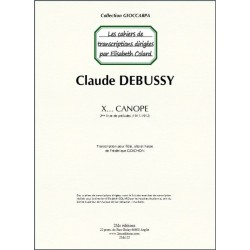 Claude Debussy Canope