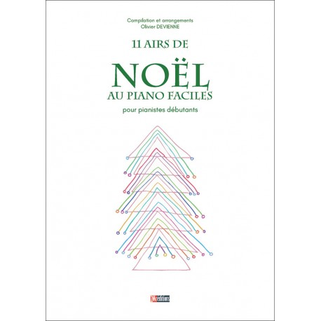 Noêl au piano facile couverture