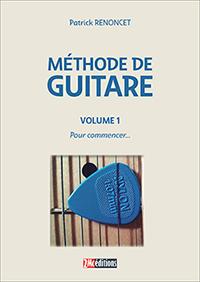 Méthode de guitare Patrick Renoncet Vol 1 couverture