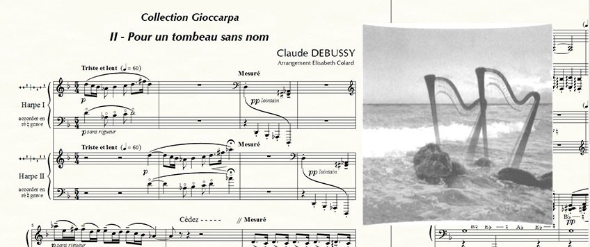 Collection Gioccarpa Music for harp