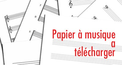 Music Paper for free